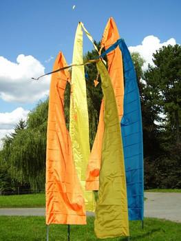 GFK-Teleskopstange verschiedene Längen, Fahnenmast für Balifahnen Flaggenmast Stipprute – Bild 6