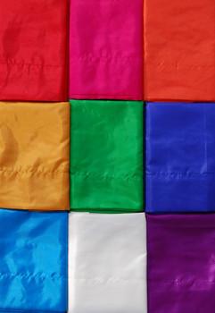Gartenfahnen-Stoff DENPASAR mit Herz-Spitze, verschiedene Farben und Längen, Balifahne, Bali Flag – Bild 2